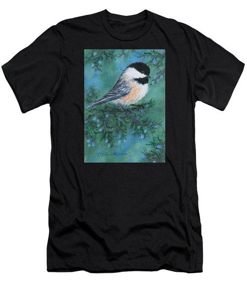 Cedar Chickadee 1 Men's T-Shirt (Athletic Fit)