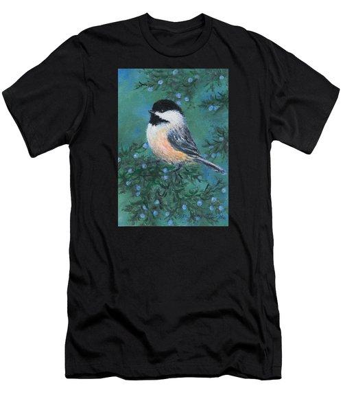 Cedar Chickadee 2 Men's T-Shirt (Athletic Fit)