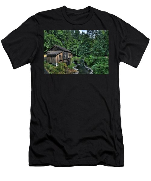 Cedar Creek Grist Mill Men's T-Shirt (Athletic Fit)