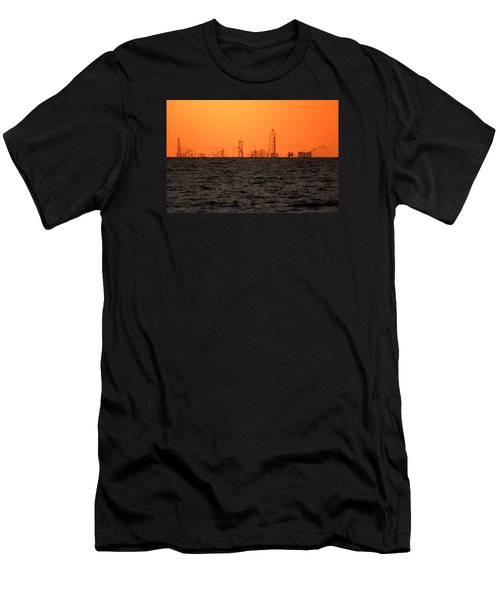 Cedar Point Skyline Men's T-Shirt (Athletic Fit)