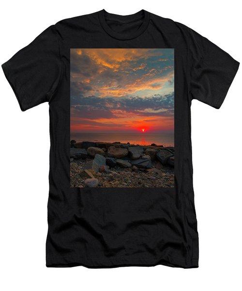 Cedar Point Sunrise Men's T-Shirt (Athletic Fit)