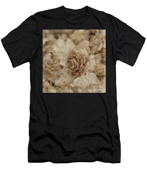 Cedar Rose Square - 3347 Men's T-Shirt (Athletic Fit)