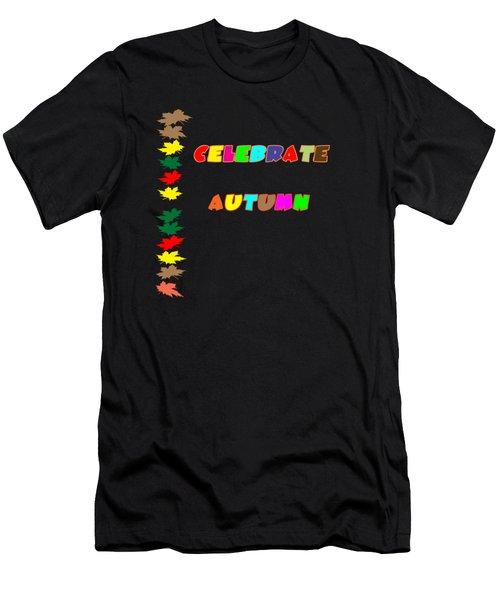 Celebrate Autumn Men's T-Shirt (Athletic Fit)