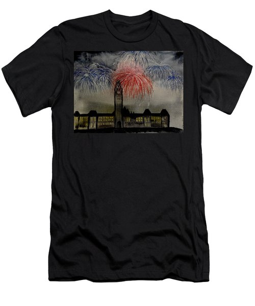 Celebrate Men's T-Shirt (Slim Fit) by Betty-Anne McDonald