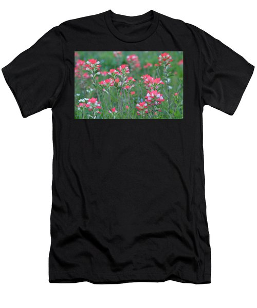 Celebration Of Paintbrushes Men's T-Shirt (Athletic Fit)