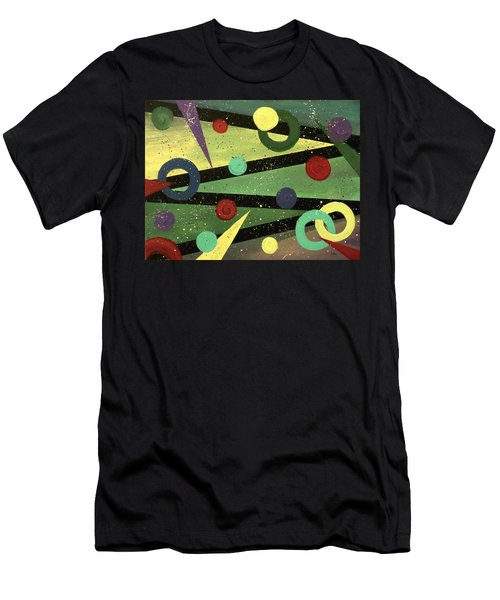 Celebration Men's T-Shirt (Slim Fit) by Teresa Wing