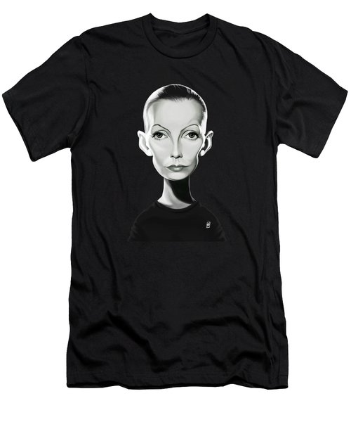 Celebrity Sunday - Greta Garbo Men's T-Shirt (Athletic Fit)