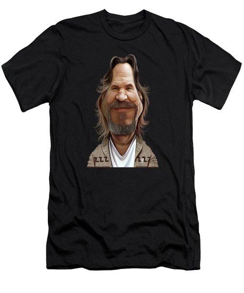 Celebrity Sunday - Jeff Bridges Men's T-Shirt (Athletic Fit)