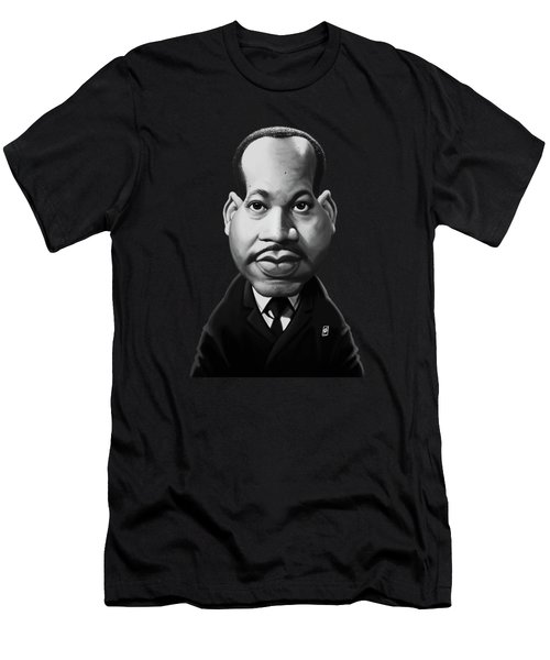 Celebrity Sunday - Martin Luther King Men's T-Shirt (Athletic Fit)