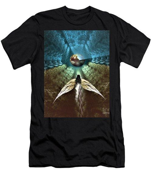 Celestial Cavern Men's T-Shirt (Athletic Fit)