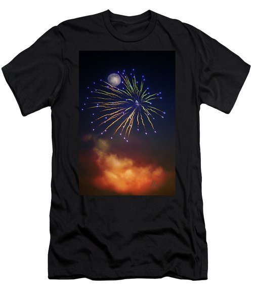 Celestial Celebration  Men's T-Shirt (Athletic Fit)
