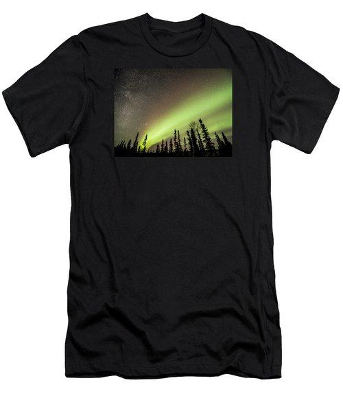 Celestial Collision Men's T-Shirt (Athletic Fit)