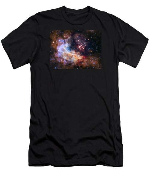 Celebrating Hubble's 25th Anniversary Men's T-Shirt (Slim Fit) by Nasa