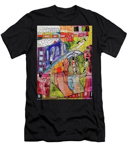 Celestial Windows Men's T-Shirt (Athletic Fit)