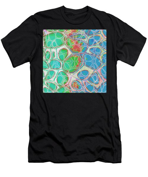 Cell Abstract 10 Men's T-Shirt (Athletic Fit)