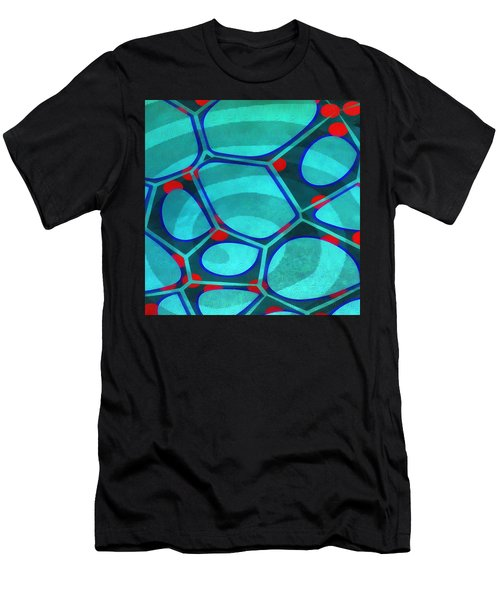 Cell Abstract 6a Men's T-Shirt (Athletic Fit)
