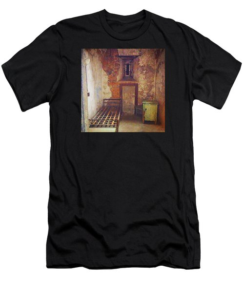 Cell At Eastern State Penitentiary Men's T-Shirt (Athletic Fit)