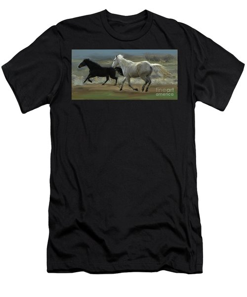 Cello And Greyboy Playing Men's T-Shirt (Athletic Fit)