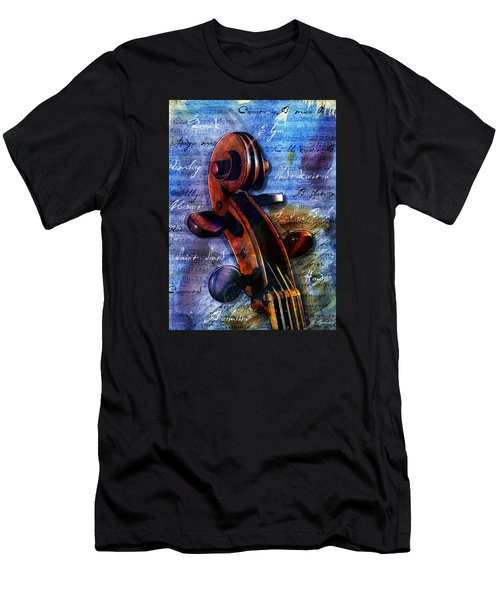 Cello Masters Men's T-Shirt (Slim Fit) by Gary Bodnar