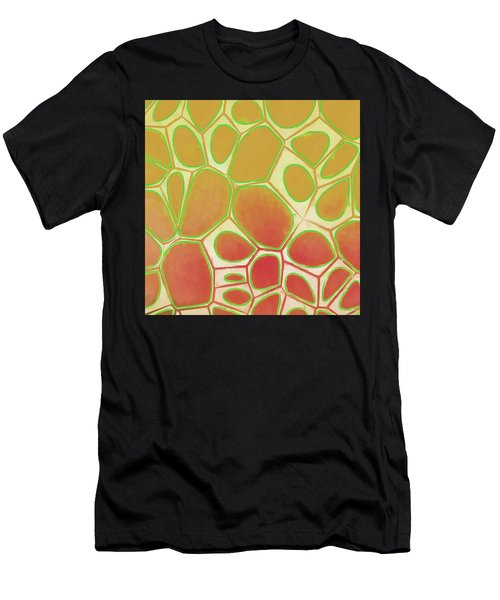 Cells Abstract Five Men's T-Shirt (Athletic Fit)