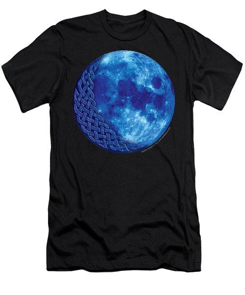 Celtic Blue Moon Men's T-Shirt (Athletic Fit)