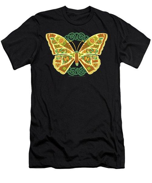 Celtic Butterfly Men's T-Shirt (Athletic Fit)