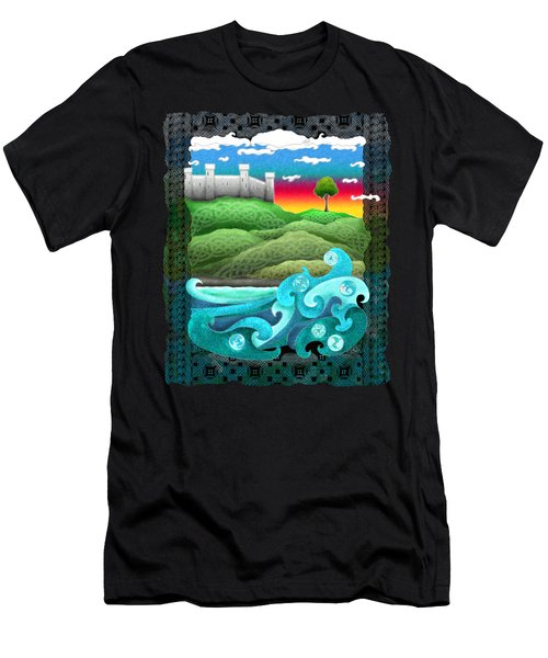 Celtic Castle Tor Men's T-Shirt (Athletic Fit)