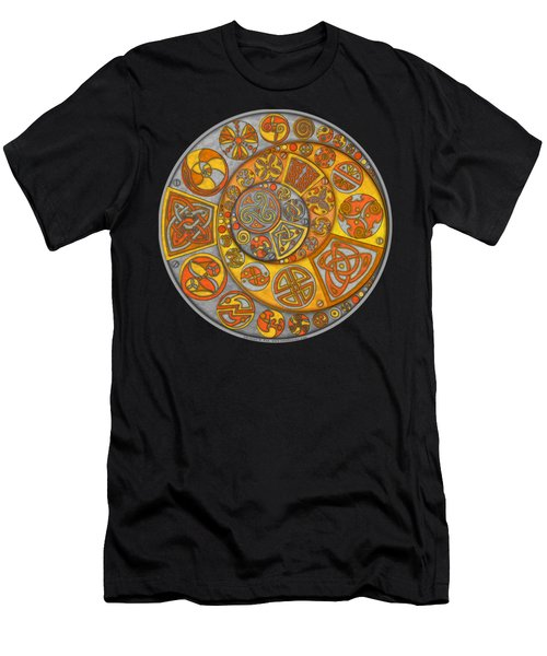 Celtic Crescents Men's T-Shirt (Athletic Fit)