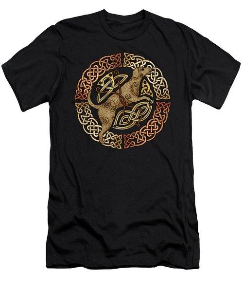 Celtic Dog Men's T-Shirt (Athletic Fit)