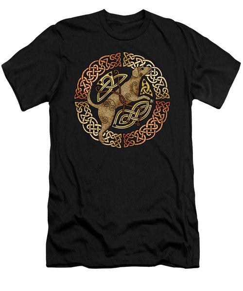 Celtic Dog Men's T-Shirt (Athletic Fit)