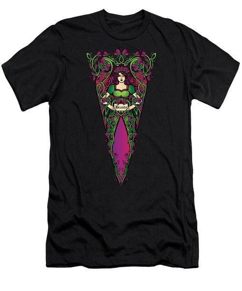 Celtic Forest Fairy - Beauty Men's T-Shirt (Athletic Fit)