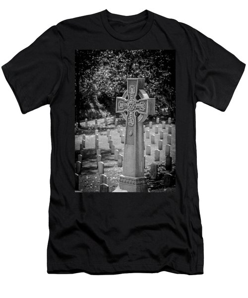 Celtic Grave Men's T-Shirt (Athletic Fit)