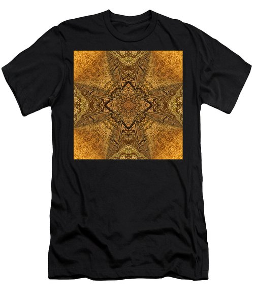 Celtic Mandala Abstract Men's T-Shirt (Athletic Fit)