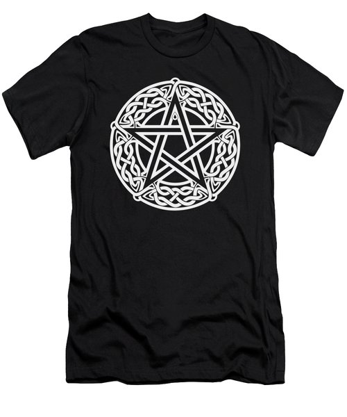 Celtic Pentagram Men's T-Shirt (Athletic Fit)