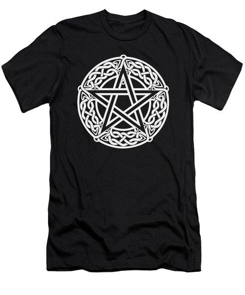 Celtic Pentagram Men's T-Shirt (Athletic Fit)