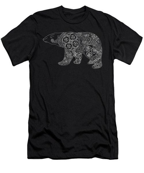 Celtic Polar Bear Men's T-Shirt (Athletic Fit)