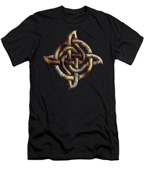 Celtic Rock Knot Men's T-Shirt (Athletic Fit)