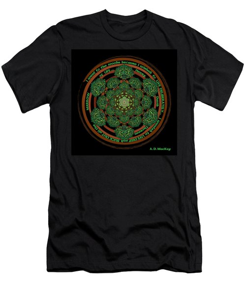Celtic Tree Of Life Mandala Men's T-Shirt (Athletic Fit)