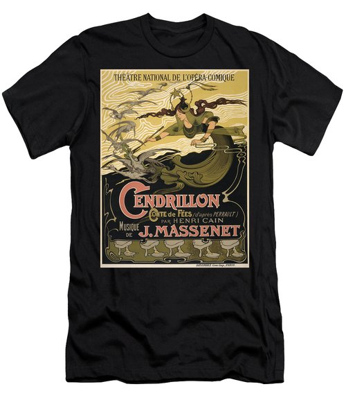 Cendrillon Poster 1899 Men's T-Shirt (Athletic Fit)