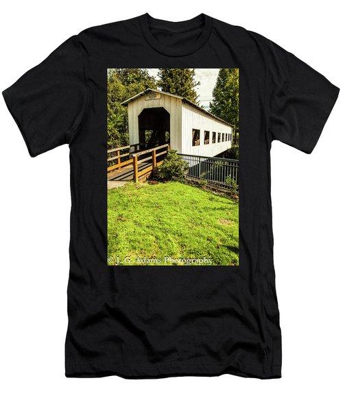 Centennial Bridge Men's T-Shirt (Athletic Fit)