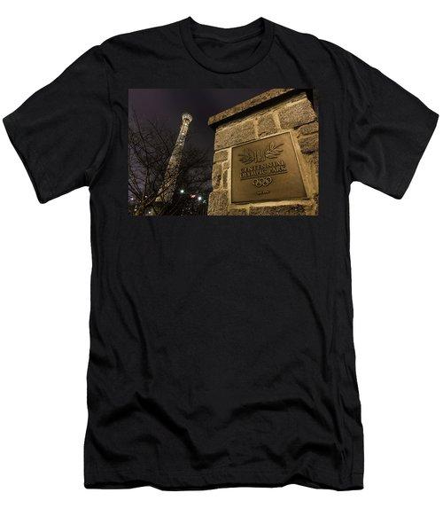 Centennial Park 1 Men's T-Shirt (Athletic Fit)