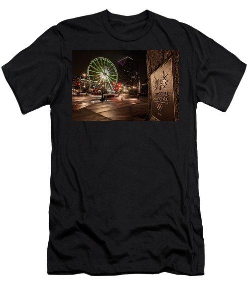Centennial Park 2 Men's T-Shirt (Athletic Fit)