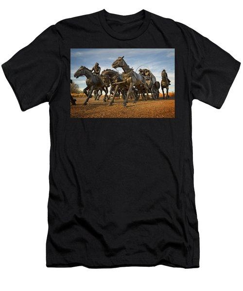 Centennial Statues Men's T-Shirt (Slim Fit)
