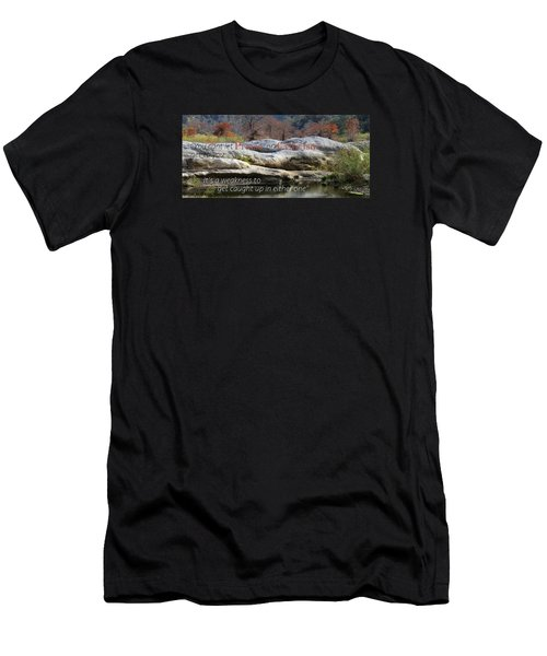 Men's T-Shirt (Slim Fit) featuring the photograph Centered In Humility by David Norman