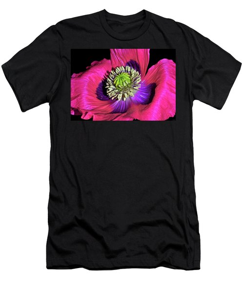 Centerpiece - Poppy 020 Men's T-Shirt (Slim Fit) by George Bostian