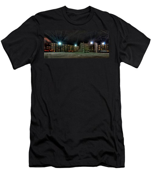 Central Area At Night Men's T-Shirt (Athletic Fit)