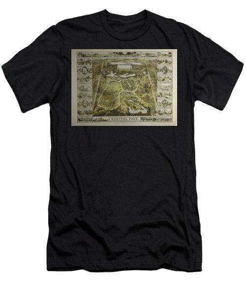 Central Park 1863 Men's T-Shirt (Athletic Fit)