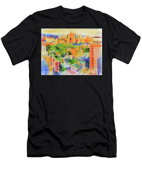 Central Park From The Carlyle Men's T-Shirt (Athletic Fit)