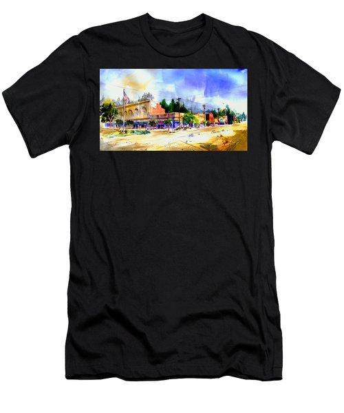 Central Square Auburn Men's T-Shirt (Athletic Fit)