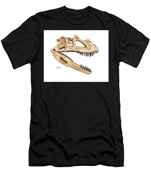 Ceratosaur Skull Men's T-Shirt (Athletic Fit)